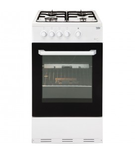 Beko BCSG50W Gas Cooker