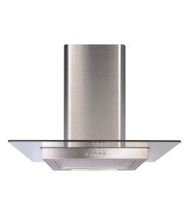 CDA ECN62SS Flat Glass And Stainless Steel 60cm Wide
