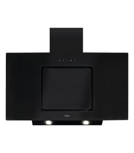 CDA EVA90BL 90cm Touch Control Angled Cooker Hood Black