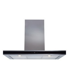CDA EVP91SS Level 2 90cm Chimney Cooker Hood Stainless Steel
