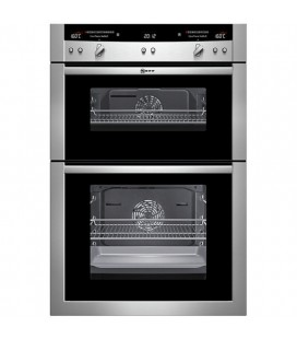 Neff Built-in Double B/I oven electric U16E74N3GB - Stainless Steel
