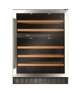 CDA FWC603SS 60 cm Freestanding Under Counter Wine Cooler - Stainless Steel
