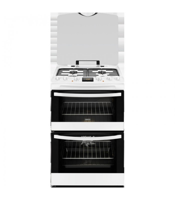 Zanussi Free Standing Slot In Cooker Dual Fuel Zck68300w
