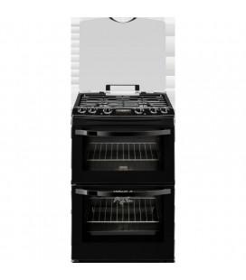 Zanussi Free Standing Slot in Cooker Dual fuel ZCK68300B - Black