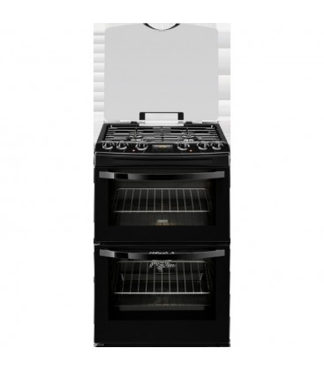 Zanussi Free Standing Slot in Cooker Dual fuel ZCK68300B - Black
