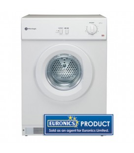 White Night Free Standing Vented Tumble Dryer C45CW - White