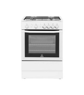Indesit I6GG1W 60cm Wide Gas Cooker - White