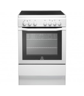 INDESIT I6VV2AW 60 cm Electric Ceramic Cooker - White