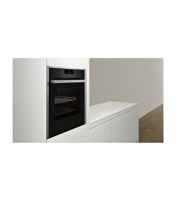 neff b58vt68n0b slide hide electric oven stainless steel a3 appliances ltd. Black Bedroom Furniture Sets. Home Design Ideas
