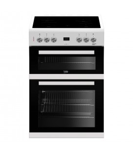 Beko 60cm Electric Cooker EDC633W