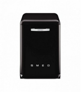 Smeg DF6FABNE2 Retro Freestanding Dishwasher, Black