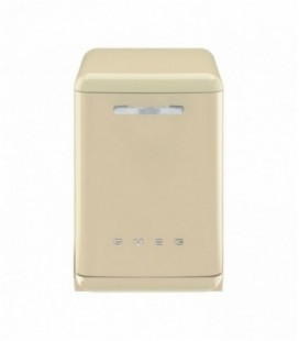 Smeg DF6FABP2 Standard Dishwasher - Cream