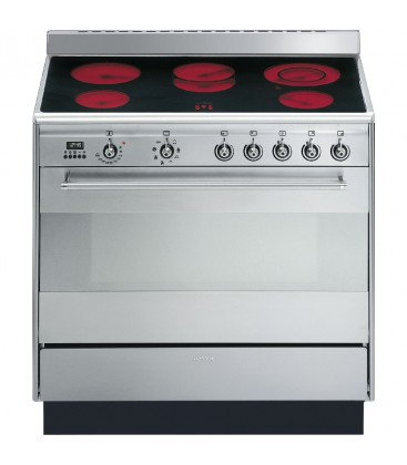 Smeg Suk91cmx9 Stainless Steel Concert 900mm Electric
