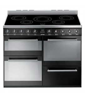 Smeg SYD4110IBL Symphony 110cm Four Cavity Side Opening Induction Range Cooker