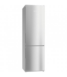 Miele KFN29132D-CLST Freestanding Fridge Freezer Frost Free - Clean Steel