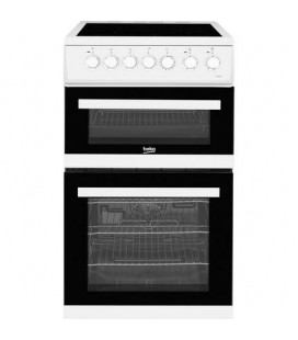 Beko BCDVC503W 50cm Electric Cooker