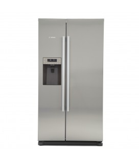 Siemens IQ-500 KA90IVI20G American Fridge Freezer - Stainless Steel