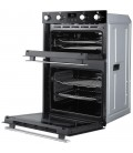 Belling BI902FPBLK Built In Electric Double Oven - Black - A Rated