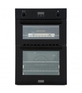 Stoves BI900 G Black Double Built In Gas Oven