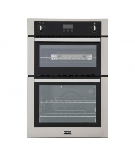 Stoves BI900 G Stainless Steel Double Built In Gas Oven