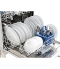 Indesit DIF04B1 13 Place Settings Integrated Full Size Dishwasher - White - A+ Energy Rated