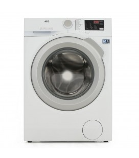 AEG L6FBI842N 8 kg 1400 Spin Washing Machine - White / Silver door - A+++ Energy Rated