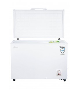 Fridgemaster MCF306 112.5cm Chest Freezer - White - Static
